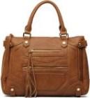 Virkade väskor: messenger väska
